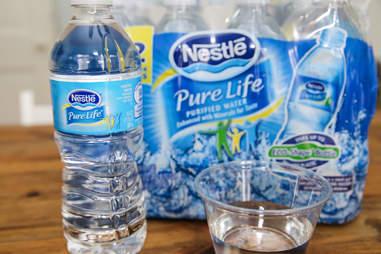 bottled water nestle pure life