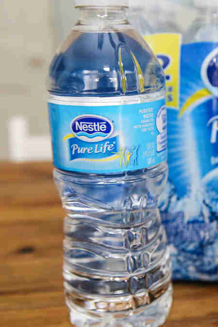bottled water nestle pure life