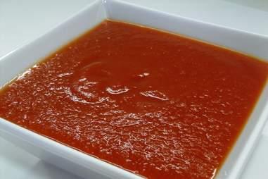 ground tomato sauce