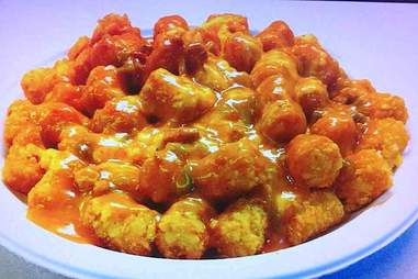 smothered tater tots