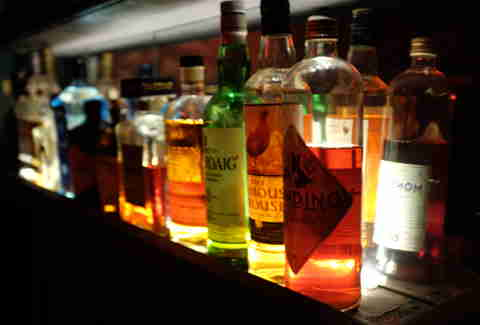 Studio8 bar bottles