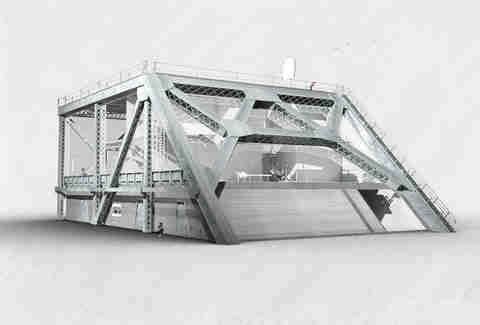 Bay Bridge House rendering