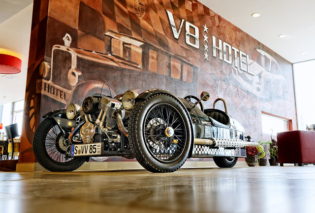 The V8 Hotel lets you sleep in your favorite vintage cars