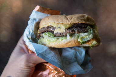 Dick's Drive-In burger