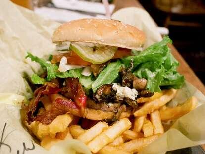 Calamity Janes burger