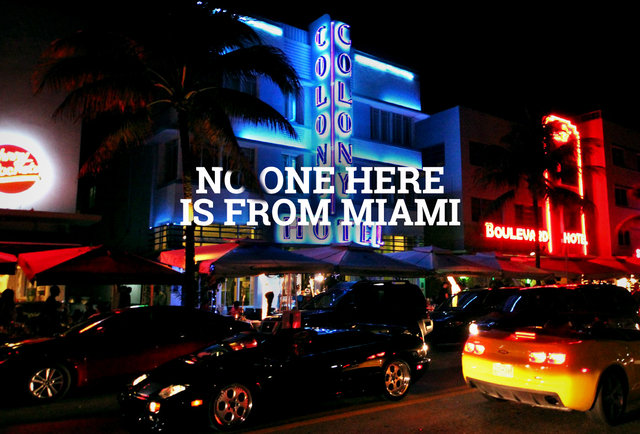 24 Things You Have to Explain to Out-of-Towners About Miami