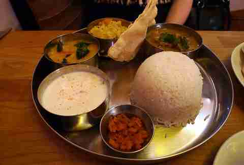 Ganapati Indian food
