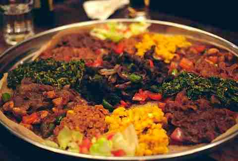 Mosob Eritrean Restaurant food