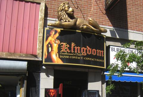 Kingdom Gentleman's Club Montreal