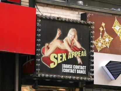 Cabaret Sex Appeal Montreal