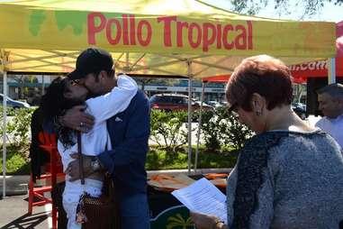 Pollo Tropical Wedding