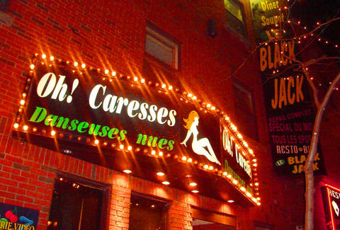 Bar Oh Caresses Montreal