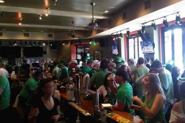 Stadium South Southie St. Patrick's Day Boston