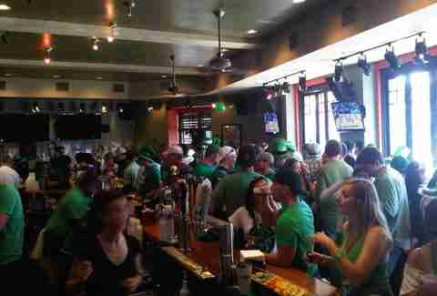 Stadium South Southie St. Patrick's Day Boston