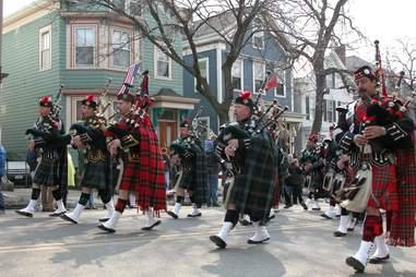 Kilts Southie St. Patrick's Day Boston
