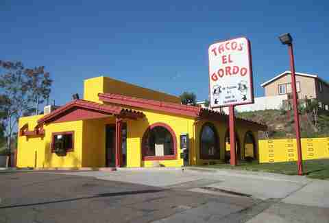 Tacos El Gordo Under the radar tacos SD