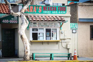 Sara's Mexican Food Under the radar tacos SD