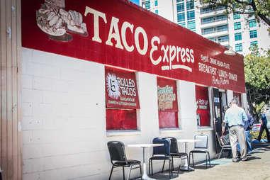 Taco Express Under the radar tacos SD