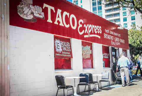 Taco Express Under the radar tacos SD