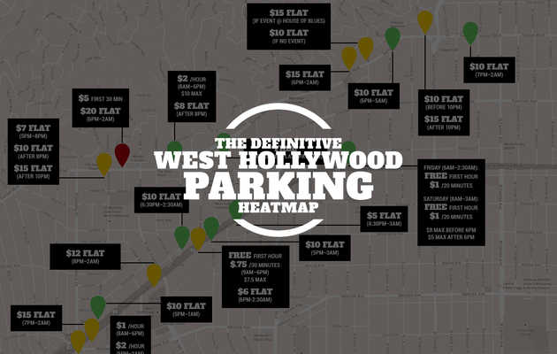 How much every WeHo parking lot ACTUALLY costs