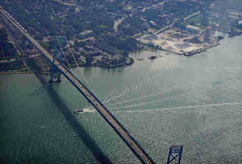 Ambassador Bridge Things you have to explain to out-of-towners about DET