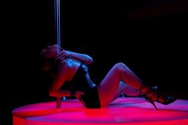 Dancer at Cabaret Les Amazones