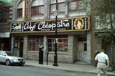 Cafe Cleopatra exterior