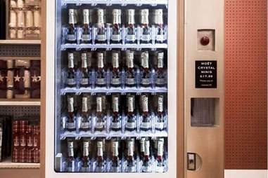 champagne vending
