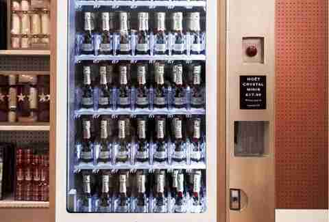 champagne vending