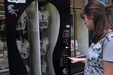 sneaker vending