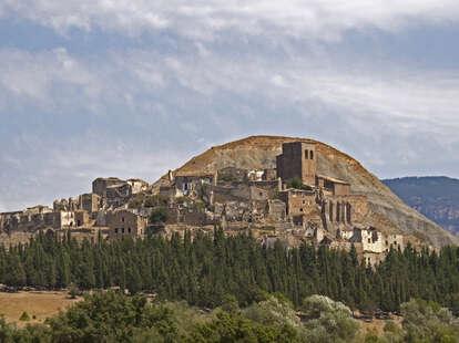 spanish hilltop village