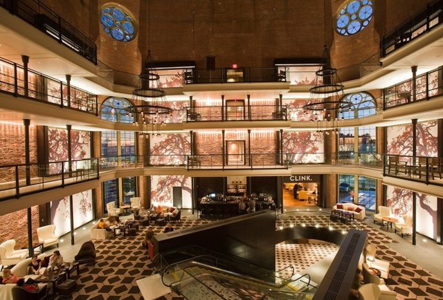 Drinking in banks and jails: 21 restaurants/bars converted from very different buildings