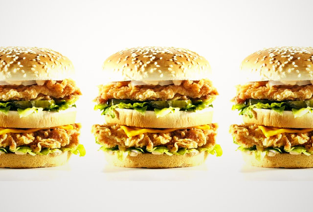 KFC now making its own Big Mac; fast-food war imminent