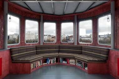 Boat hotel interior