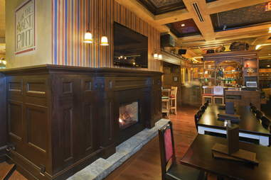 irish pub fireplace