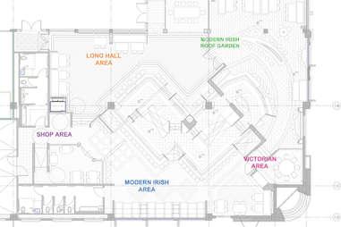 irish pub floorplan layout