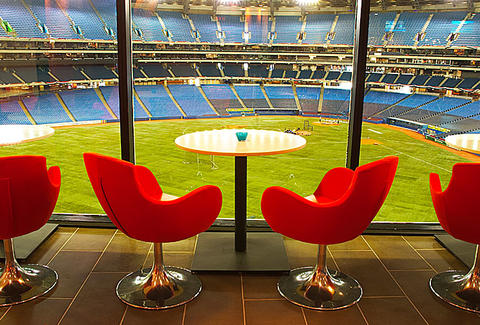 Table at Arriba Rogers Centre
