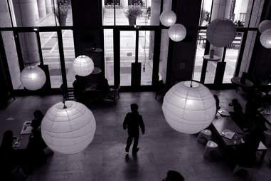 Inside Palais de Tokyo