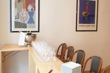 Inside Willi's Wine Bar
