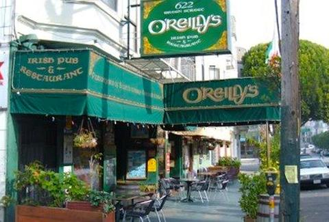 O'Reilly's Irish Pub & Restaurant SF