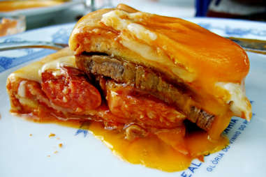 Francesinha sandwich