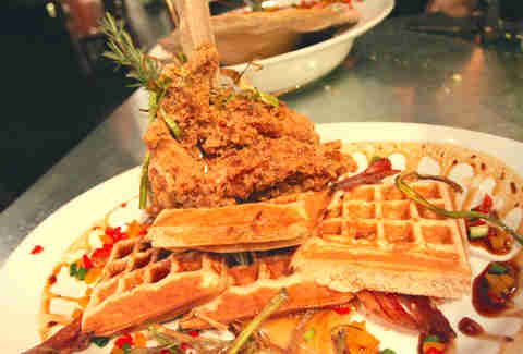 hash house a go go chicken and waffles