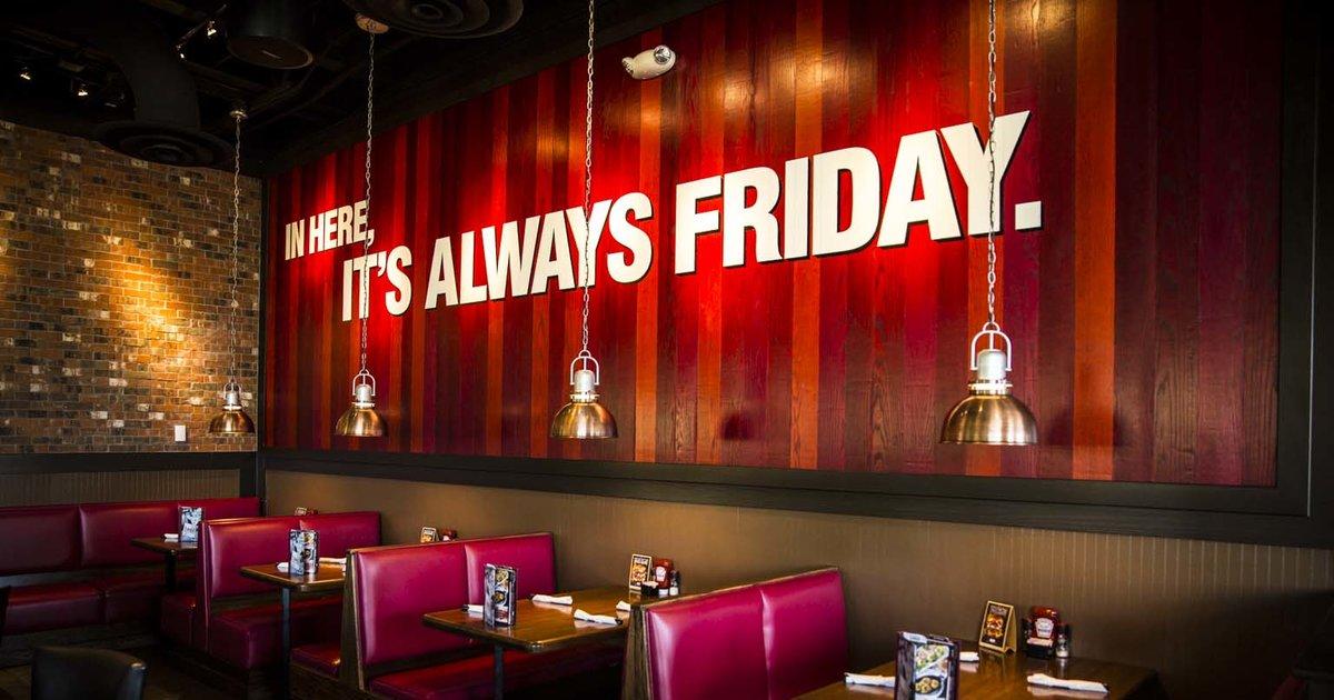 Fridays Restaurant Near Me