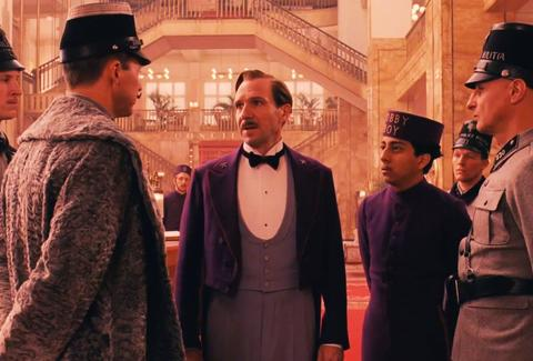 Ralph Fiennes in 'The Grand Budapest Hotel'