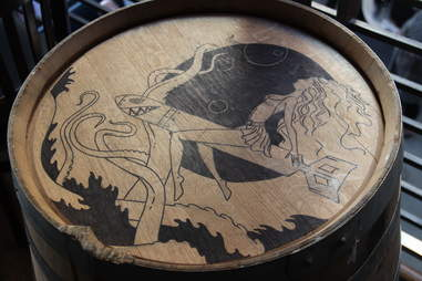 Barrel design at Barrel Head Brewhouse