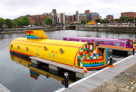 Yellow submarine hotel