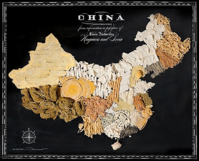 China food map