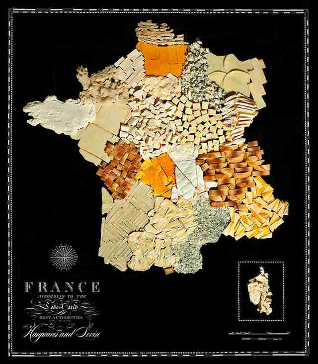 France food map