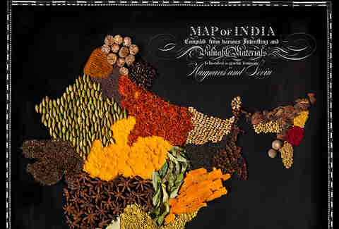 India food map