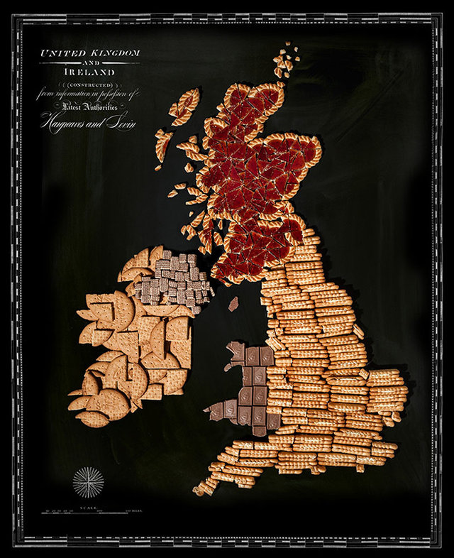 UK food map